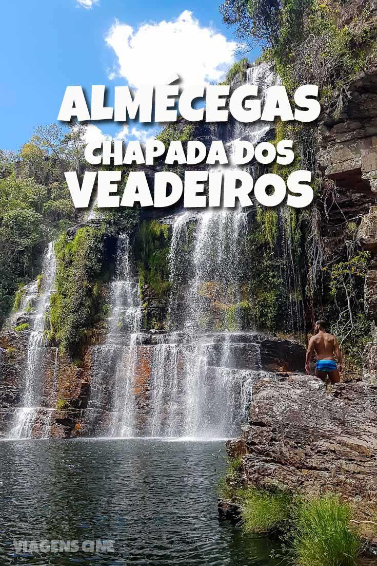 Localizada no caminho para São Jorge, a Cachoeira Almécegas I é um dos lugares a conhecer na Chapada dos Veadeiros