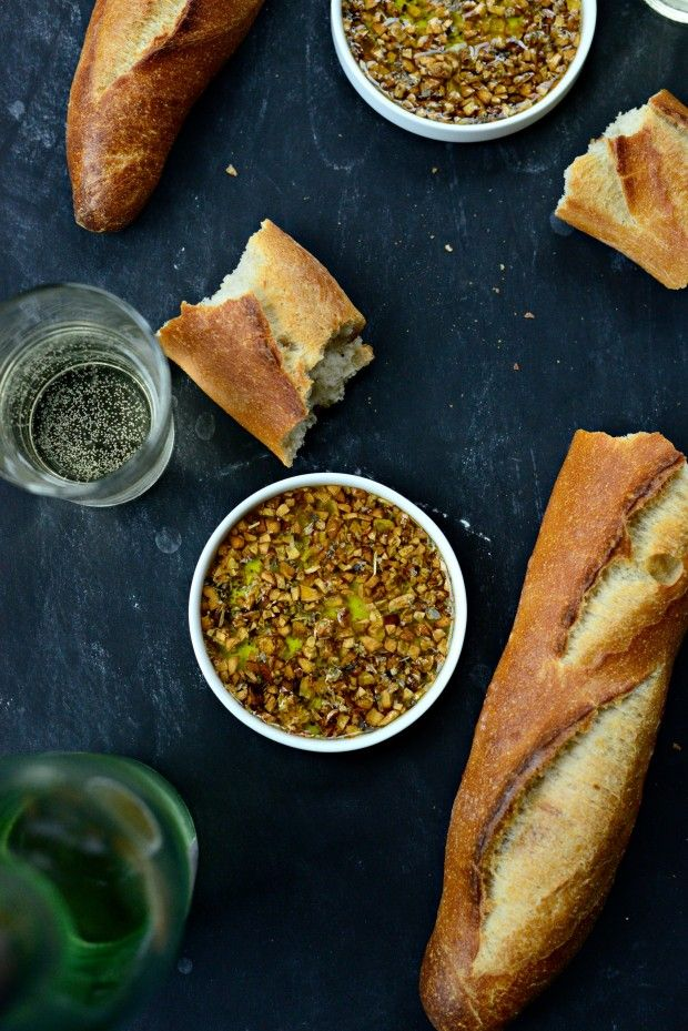 Toasted Garlic Olive Oil Bread Dip l SimplyScratch.com  (17)