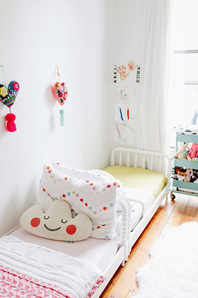 A Family of Four Shares Their 800 Square Foot Brooklyn Apartment