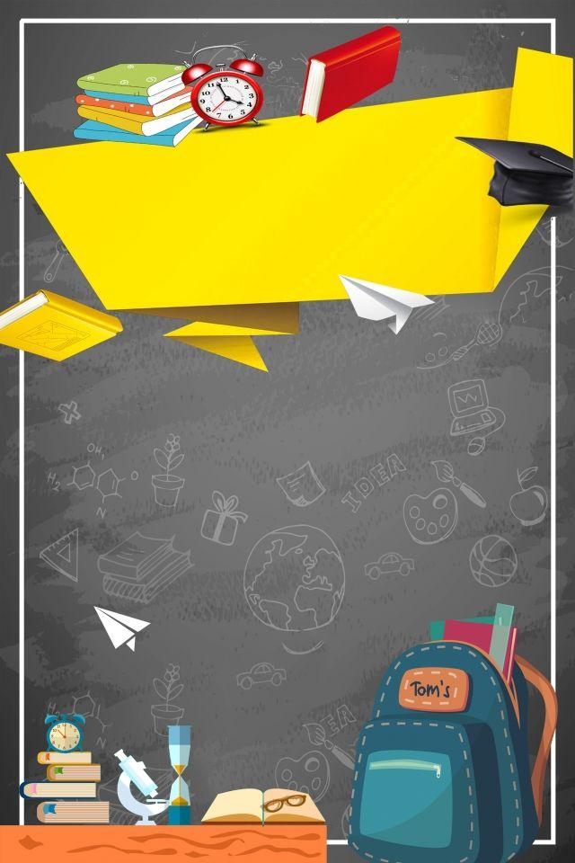 Color Creative School Season Background Kids Background School Posters Colorful Backgrounds