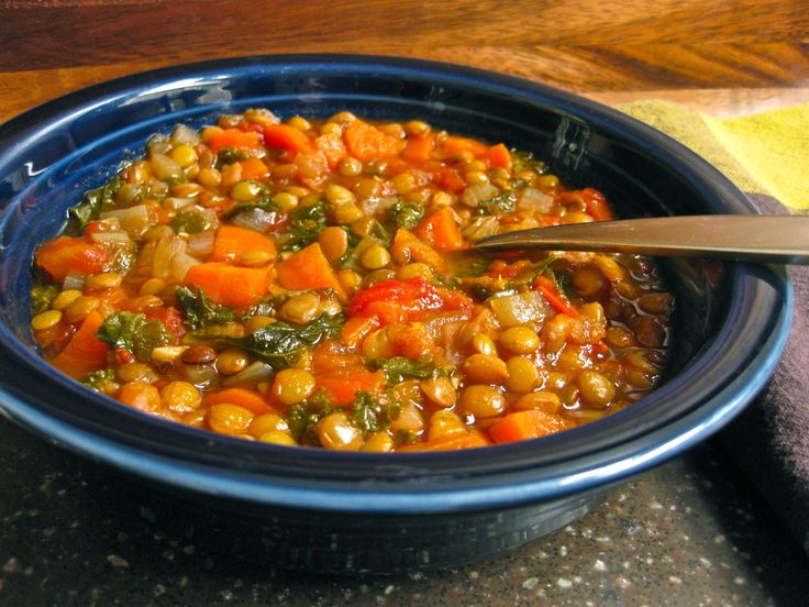 GRANDMA'S SICILIAN LENTIL SOUP ~ my daughter made some and it was soooo delicious I had to get the recipe. :)