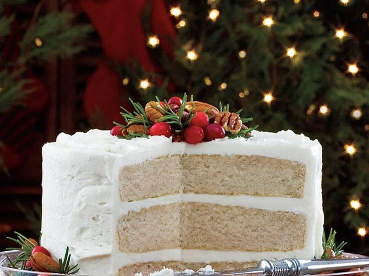 Make a classic white cake for Christmas or Easter this year. This cake starts with boxed mix, then adds a few key ingredients to make the...