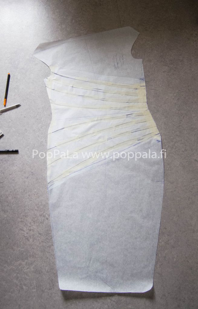 tuubimekon kaavailua http://www.poppala.fi/ pattern making#