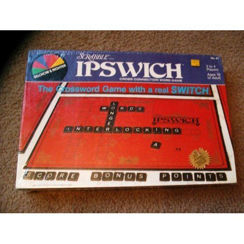 Scrabble ipswitch board game a cross connection word game