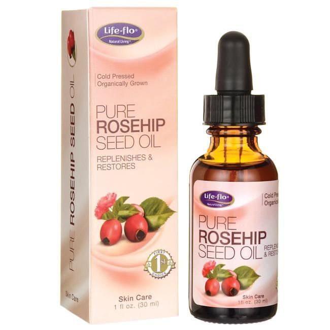 Life Flo Pure Rosehip Seed Oil 1 Fl Oz Liquid Swanson Health Products In 2020 Rosehip Seed Oil Seed Oil Pure Products