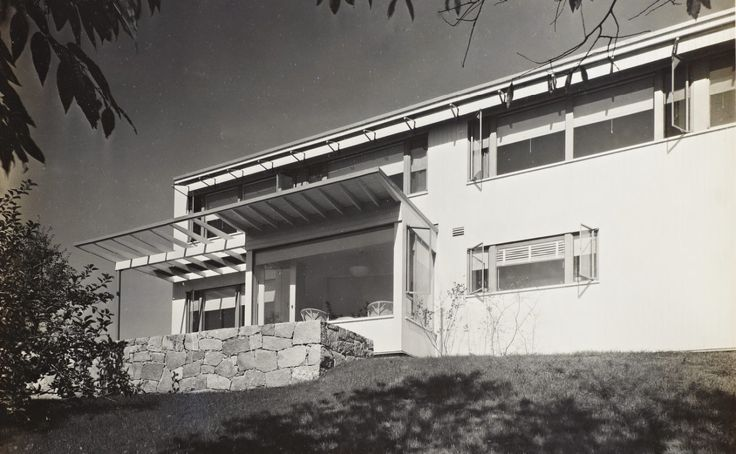 James Ford House, Lincoln MA (1939) | Marcel Breuer, Walter Gropius