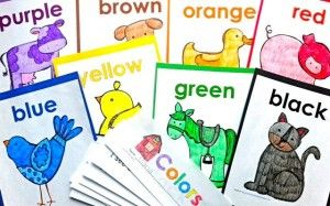 Kinesthetic & Auditory Learning Fun With Color Words - Kinder Craze: A Kindergarten Teaching Blog