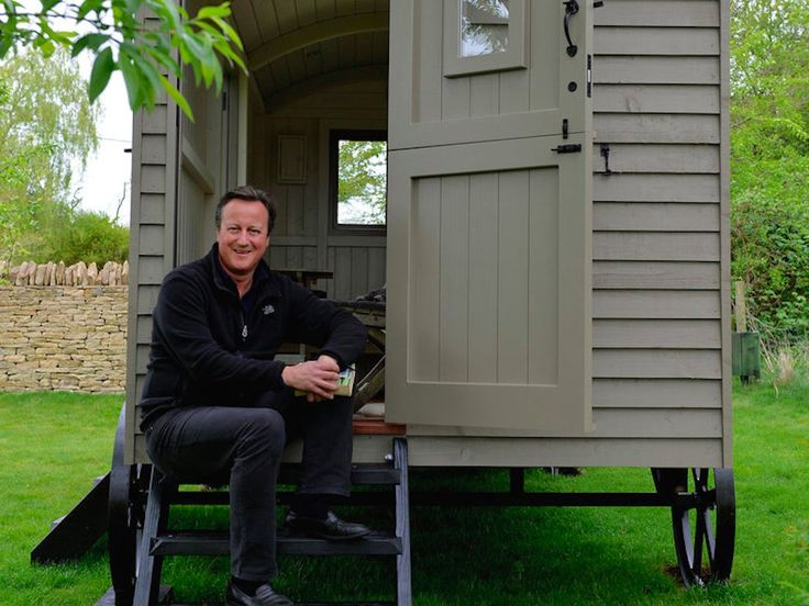 Britain's former prime minister David Cameron just spent £25,000 on a garden shed with wheels.  In a blog written by the maker of the shed, Red Sky Shepherds Huts, Cameron chose the father and son team Paul and Adam Bennett to build a  http://aspost.com/post/Take-a-look-at-the-garden-shed-David-Cameron-bought-for-£25,000/24117 #finance #stockquotes #financenews #resources http://aspost.com/post/Take-a-look-at-the-garden-shed-David-Cameron-bought-for-£25,000/24117