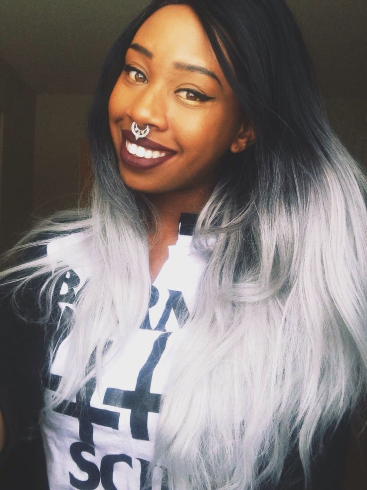 Best 25+ Grey hair extensions ideas on Pinterest | Silver hair ...
