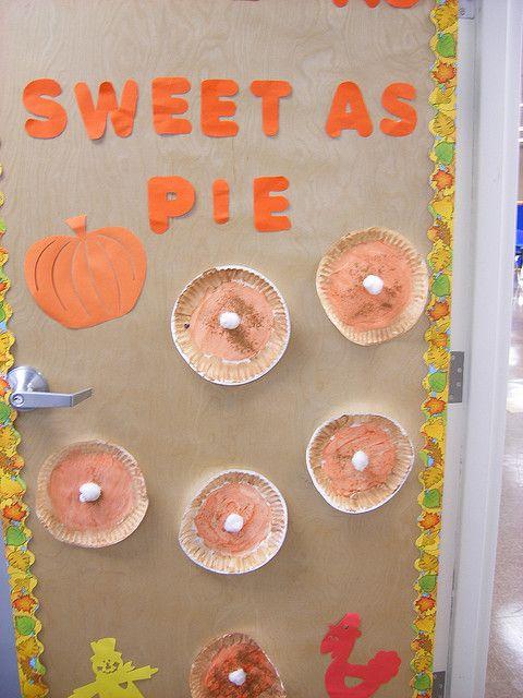 fall bulletin boards | Fall Bulletin Board/Door | Flickr - Photo Sharing!