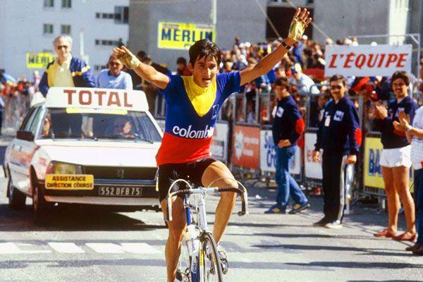 Luis Herrera abrió el camino triunfador en 1984 (Foto: procyclingfanatic.com)