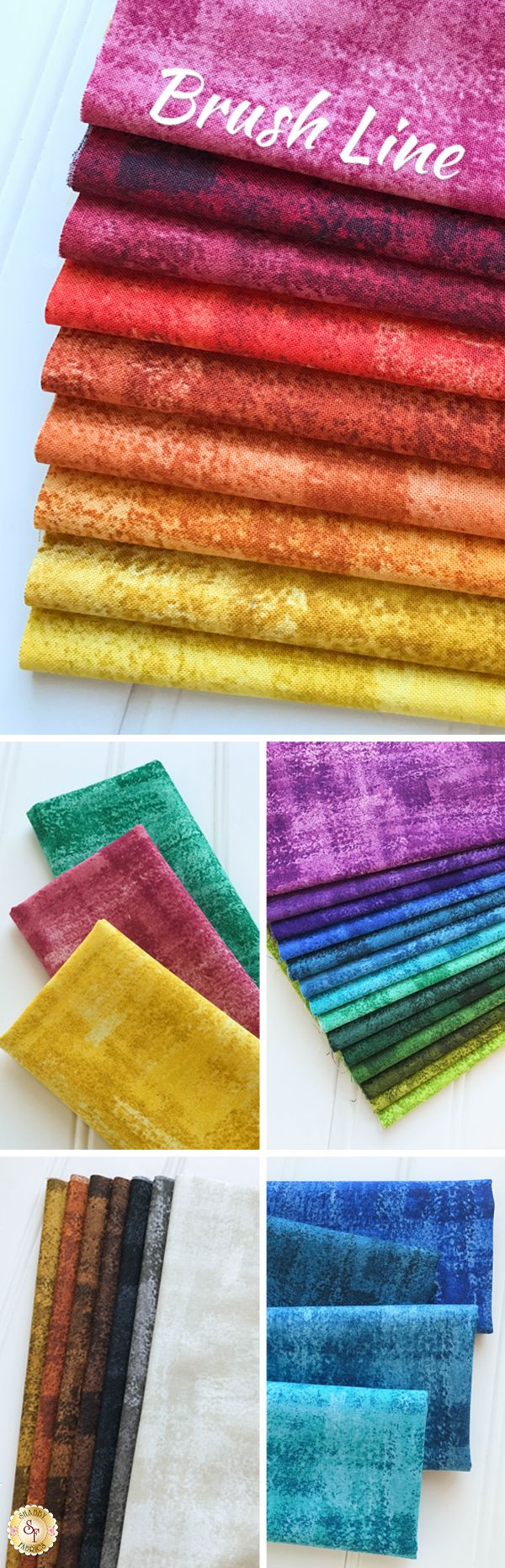 Brushline by Andover Fabrics is a beautiful textured basics collection available at Shabby Fabrics!