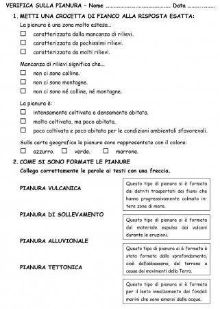 PIANURA VERIFICA PAG 1: