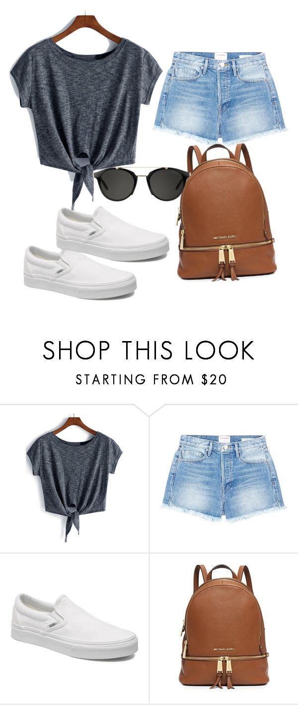 """""""."""" by valeria-arcos on Polyvore featuring Frame, Vans and Carrera"""