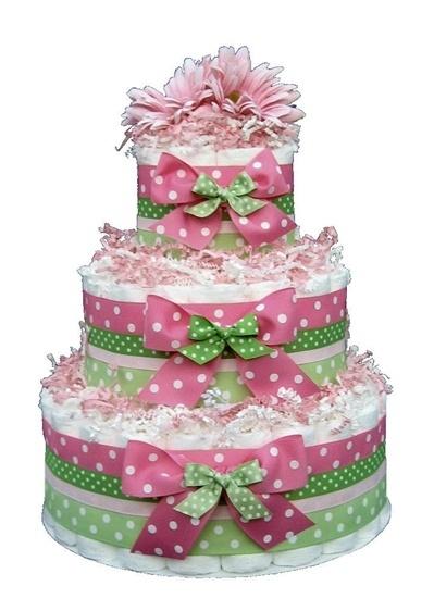 diaper cake party-decorating-ideas