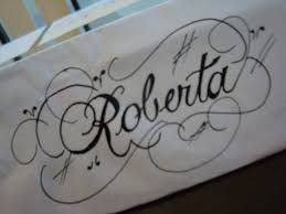 Resultado de imagem para letra cursiva elegante