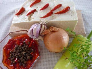 recepty s Anabelou: Nakladaný ovčí syr ♥