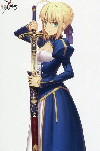 anime blue saber ndash - photo #30