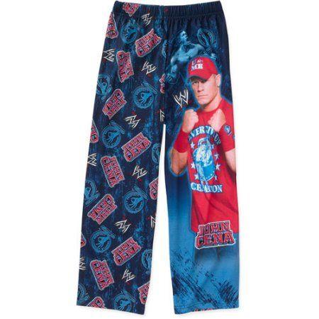 WWE - Boys Pajama Pant, Blue