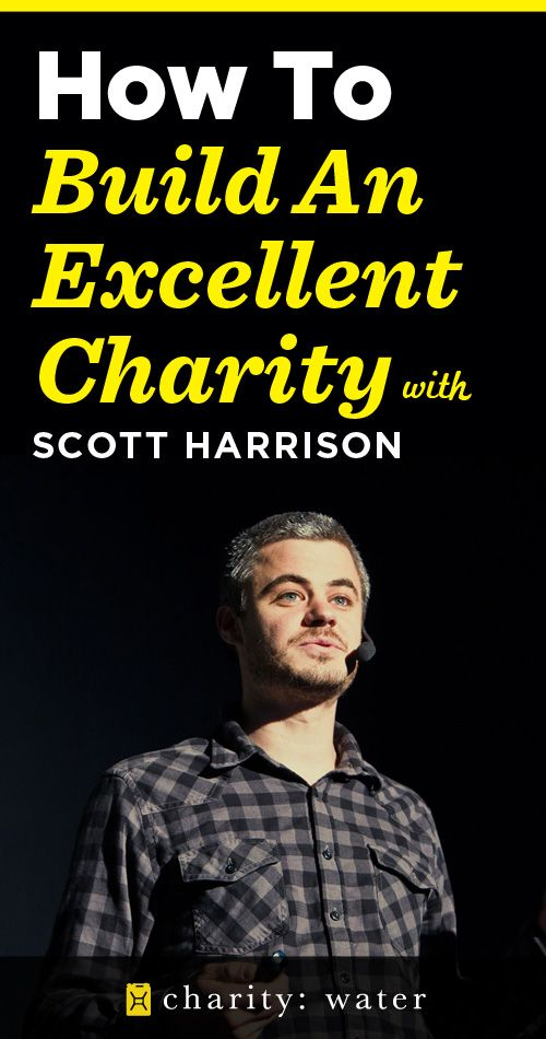 Awesome podcast interview with Charity Water Founder, Scott Harrison
