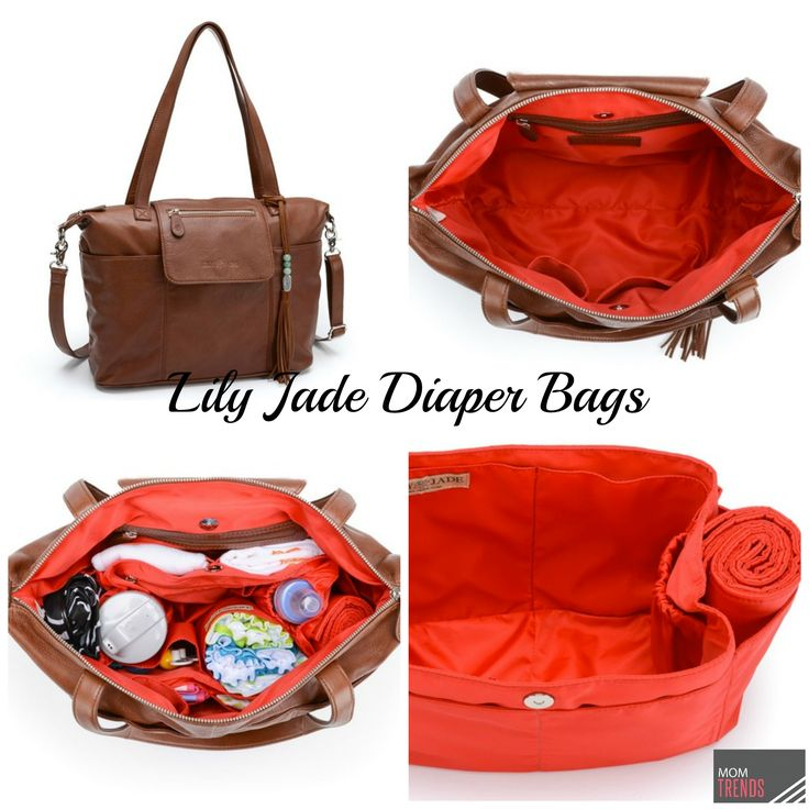 Lily Jade diaper bag - a chic modern diaper bag option for moms