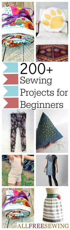 200+ DIY Sewing Projects for Beginners by the Minute. Transform your life with quick sewing projects that are easy to make. From clothing patterns to sewn accessories and home decor, we know you'll find a free sewing pattern you'll love!