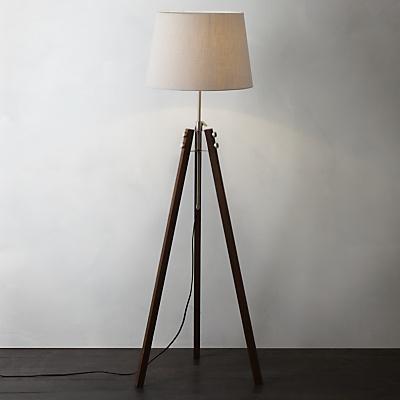Buy John Lewis Ethan Wood Floor Lamp online at JohnLewis.com - John Lewis