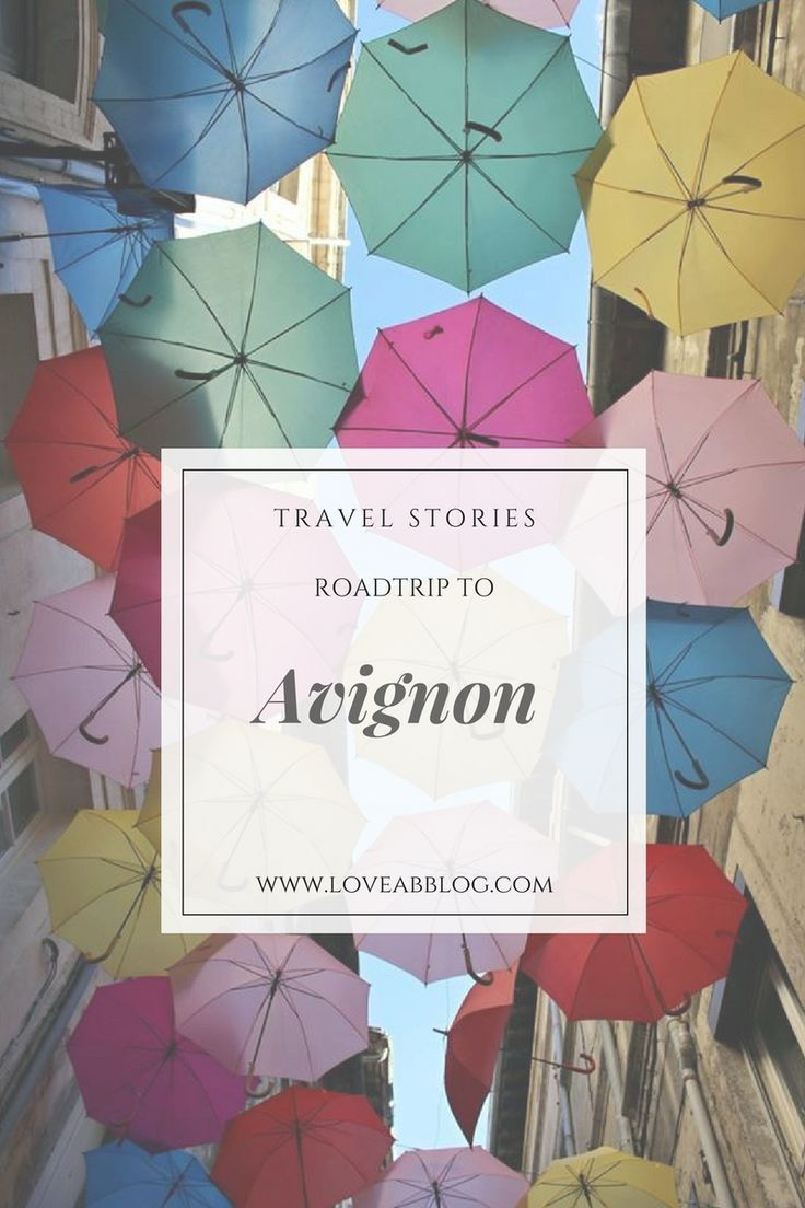 Perfect Roadtrip, Perfect Avignon. I still remember on this wonderful place as Avignon exactly is! Travel strory on my blog!