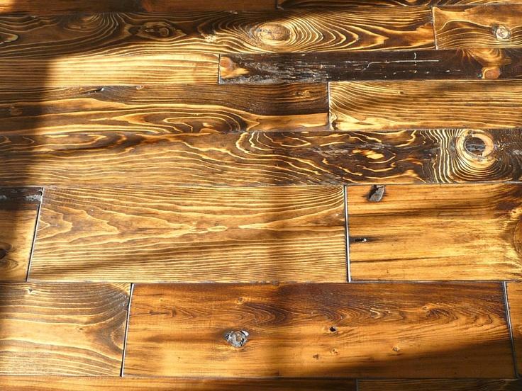 "Classic Pine Mix - Antique Reclaimed Hardwood Flooring - Solid Wood - 3/4"" - T $7.99, via Etsy."