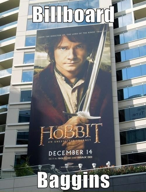 25 best ideas about hobbit humor on pinterest hobbit for Funny movie pictures with captions