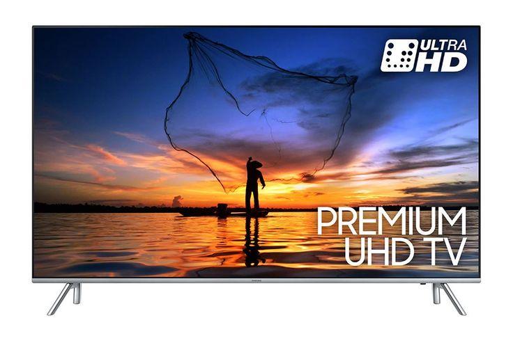 """Samsung UE55MU7000  Description: Samsung UE55MU7000LXXN: 55"""" Slimme TV Als je op zoek bent naar een goede Smart TV met absoluut natuurgetrouw beeld dan is de Samsung UE55MU7000LXXN iets voor jou. Deze slimme TV beschikt over een aantal innovatieve veranderingen die hem onderscheid van andere televisies. Zo beschikt de 55MU7000 onder andere over UHD Dimming Precision Black en Dynamic Crystal Color. Dankzij deze technologieën kun jij compleet opgaan in jouw favoriete serie of film en aangezien…"""