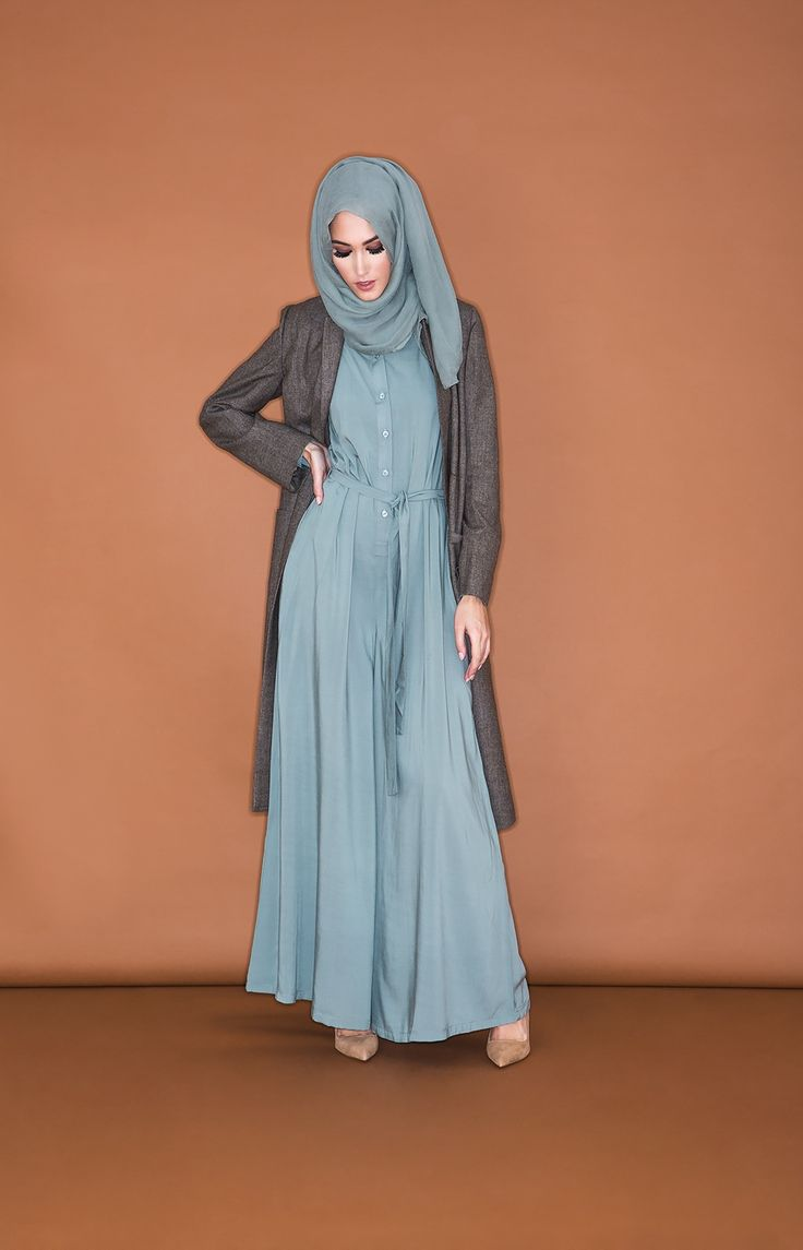 Jumpsuit - Sage | Aab - I have always wanted a modest jumpsuit and now I have found one <3