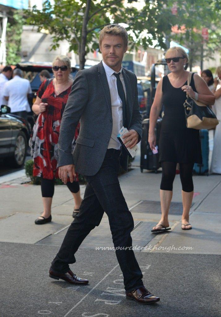 Bethany Mota and Derek Hough in New York City, September 4, 2014 (HQ Photos) | Pure Derek Hough