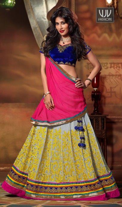 Buy Now @http://goo.gl/hZisdd  Chitrangada Singh Subtle Georgette Beige A Line Lehenga Choli  Ravishing attire to enhance your beauty. Look stunningly beautiful in this Chitrangada Singh beige georgette a line lehenga choli. Beautified and stylized with embroidered and patch border work to give you an attractive look  Product No  VJV-SWAG7906  @ www.vjvfashions.com  #chaniyacholi #ghagracholi #indianwear #indianwedding #fashion #fashions #trends #cultures #india #womenwear #weddingwear