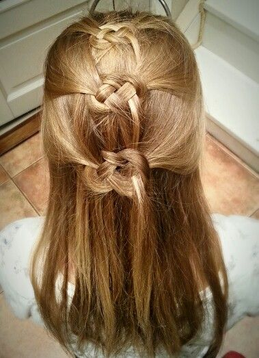 My sister did my hair...;)