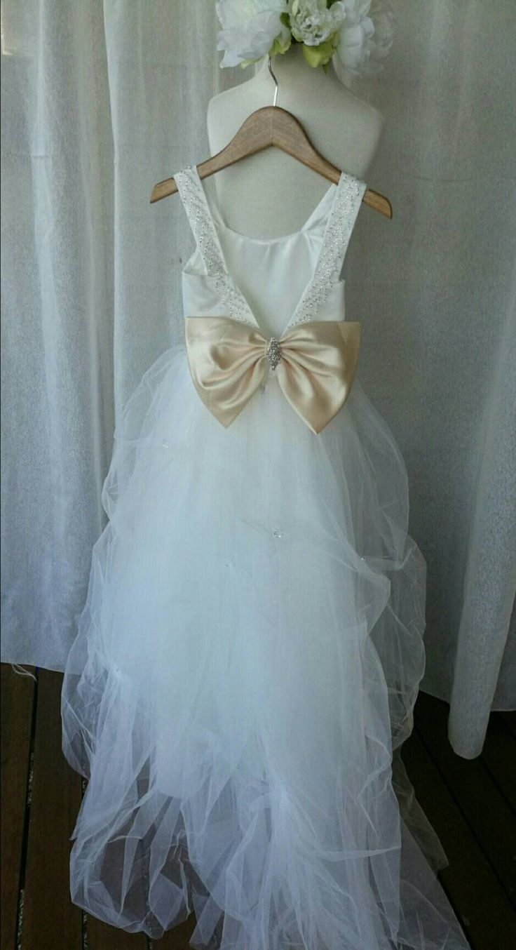 40 best flower Girl dress images on Pinterest | Dresses for girls ...