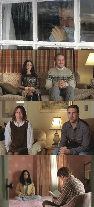 Lars and the Real Girl....tons of great knitwear in this sweet movie.