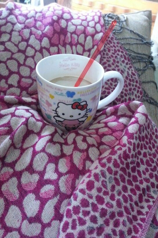 Instant White coffee on a stormy floody tuesday Coffee