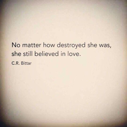 Still believed