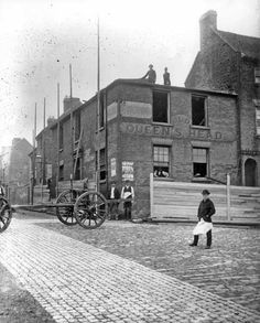 The old queens head Hill st walsall