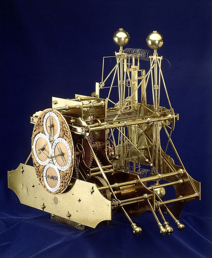 H1 - The first seaworthy clock, created by Harrison, who solved the longitude…