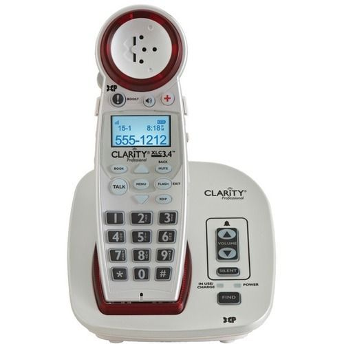 CLARITY 59234.001 DECT 6.0 Extra-Loud Big-Button Speakerphone with Talking Caller ID