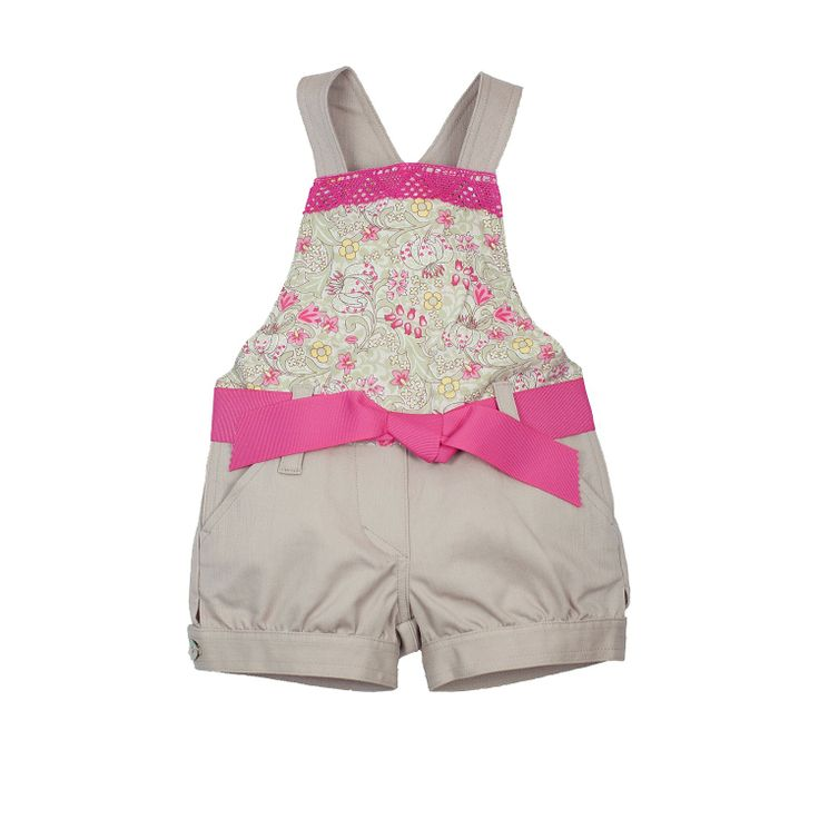 Candy Flower Dungarees from Lace & Ribbons