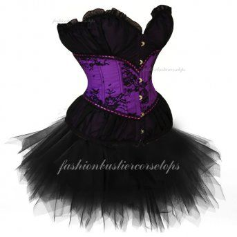 Beam Waist Classic Top High Party Purple Corset Bustier Tops Dress Cheap