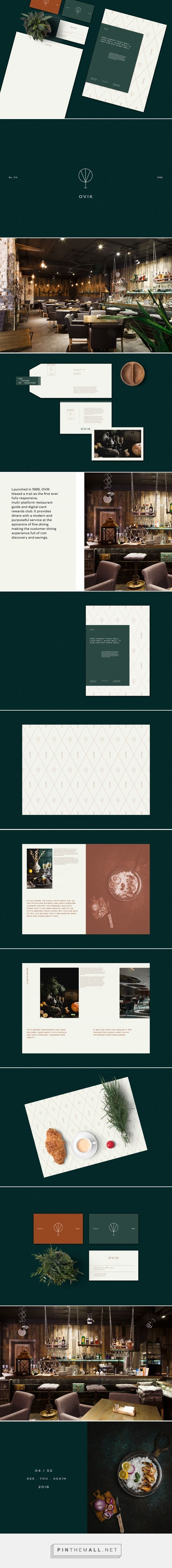 OVIK Luxury Restaurant Branding by Eldur Ta | Fivestar Branding Agency