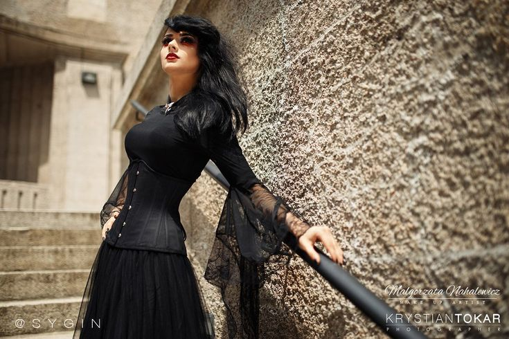 New gothlolibeauty photo of Long sleeves T-shirt TW098 wear by sygin,click to see more