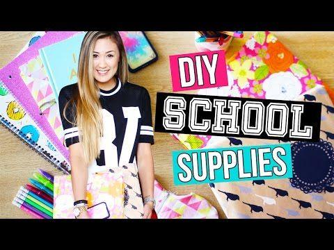 diy school supplies pencil case binder amp organization