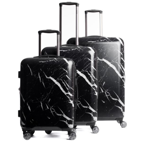 Take the Astyll collection on your next getaway! The CALPAK Astyll 3-piece luggage set features 8 multi-directional spinner wheels that offer effortless mobility, a retractable handle, and is expandab
