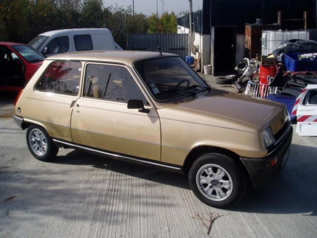 Renault 5. Min första bil.