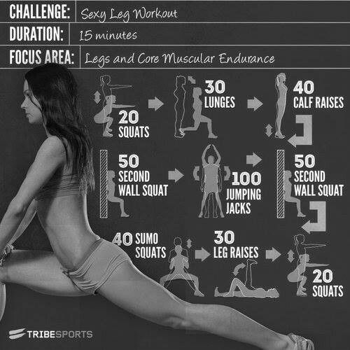 At home fitness challenge... Looks tough but will try it!